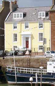 The Nestings self-catering apartments in Arbroath, Angus on the East Coast of Scotland