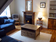 Lounge at The Nestings self-catering apartments in Arbroath, Angus on the East Coast of Scotland