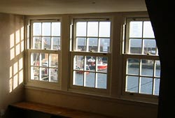 3 self-catering apartments with superb views over Arbroath Harbour on the East Coast